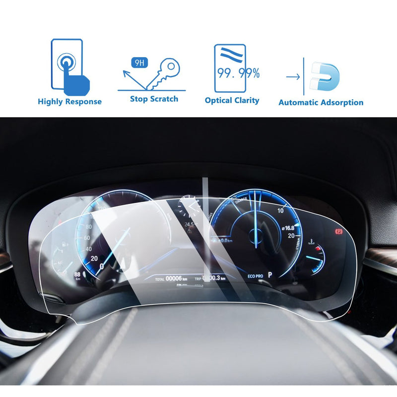 2019-2020 BMW 7 Series Dashboard Screen Protector-BMW Interior Decoration - LFOTPP