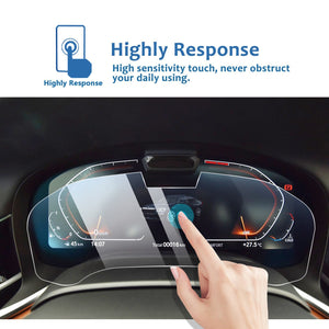 2019-2020 BMW 7 Series Dashboard Screen Screen Protector-Bring Camera-BMW Interior Decoration - LFOTPP