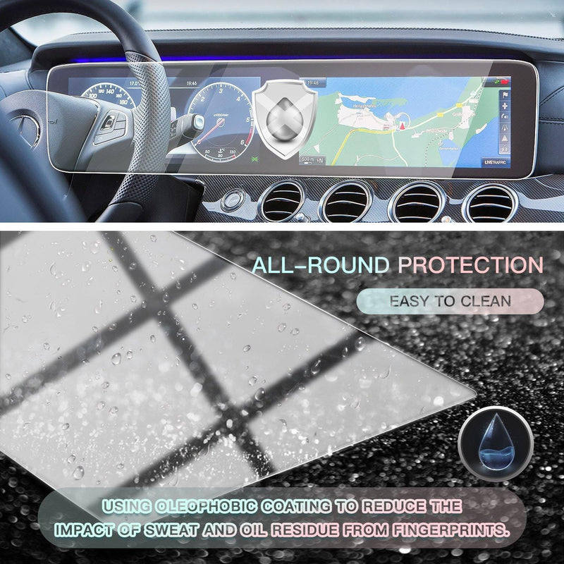 2019-2020 Mercedes benz GLE W167 Screen Protector Cover 12.3-Inch(1 Piece) - LFOTPP