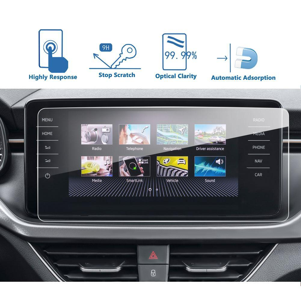 2019-2020 Skoda Kamiq Amundsen Infotainment System Screen Protector 9.2″ | Skoda Modification - LFOTPP