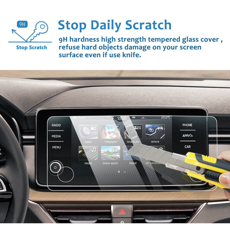 2019-2020 Skoda Kamiq Bolero Infotainment System Screen Protector 8″ Display | Skoda Modification - LFOTPP