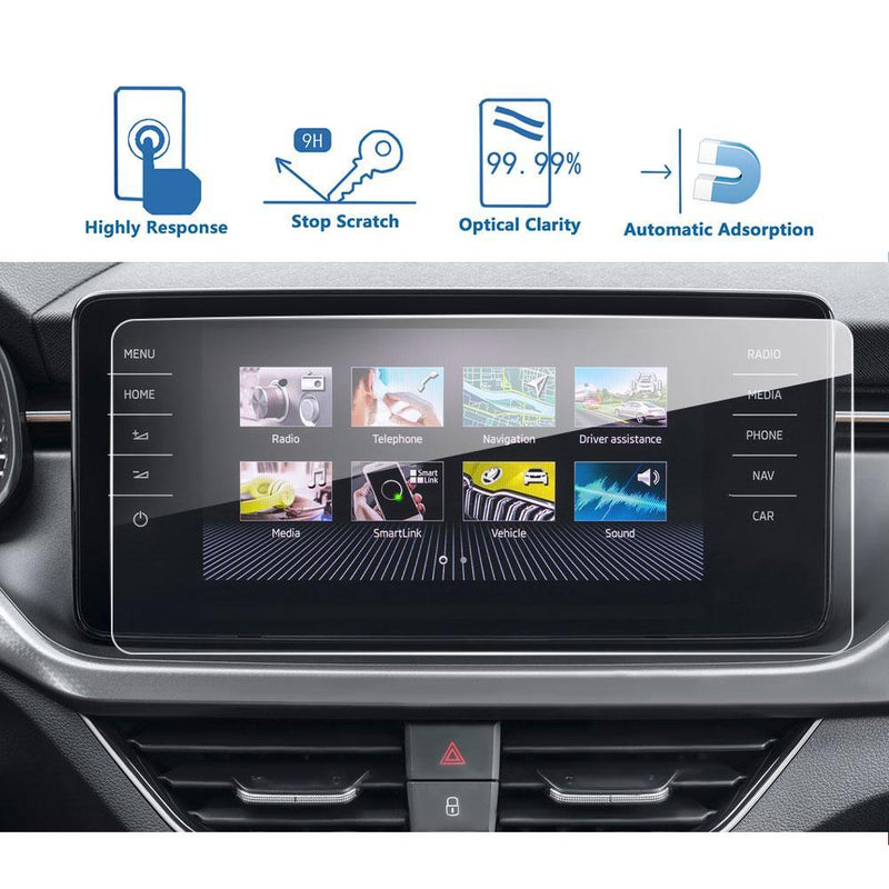 2019-2020 Skoda Scala Amundsen Infotainment System Screen Protector 9.2″ | Skoda Modification - LFOTPP