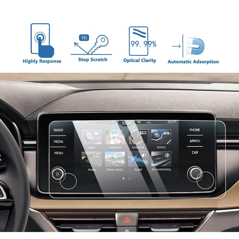 2019-2020 Skoda Scala Bolero Infotainment System Screen Protector 8″ Display | Skoda Modification - LFOTPP