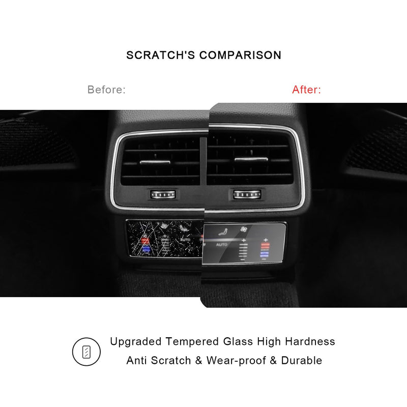 2019 Audi A6/A7/Q8/E-Tron Rear Temperature Controlled Air Conditioning Film