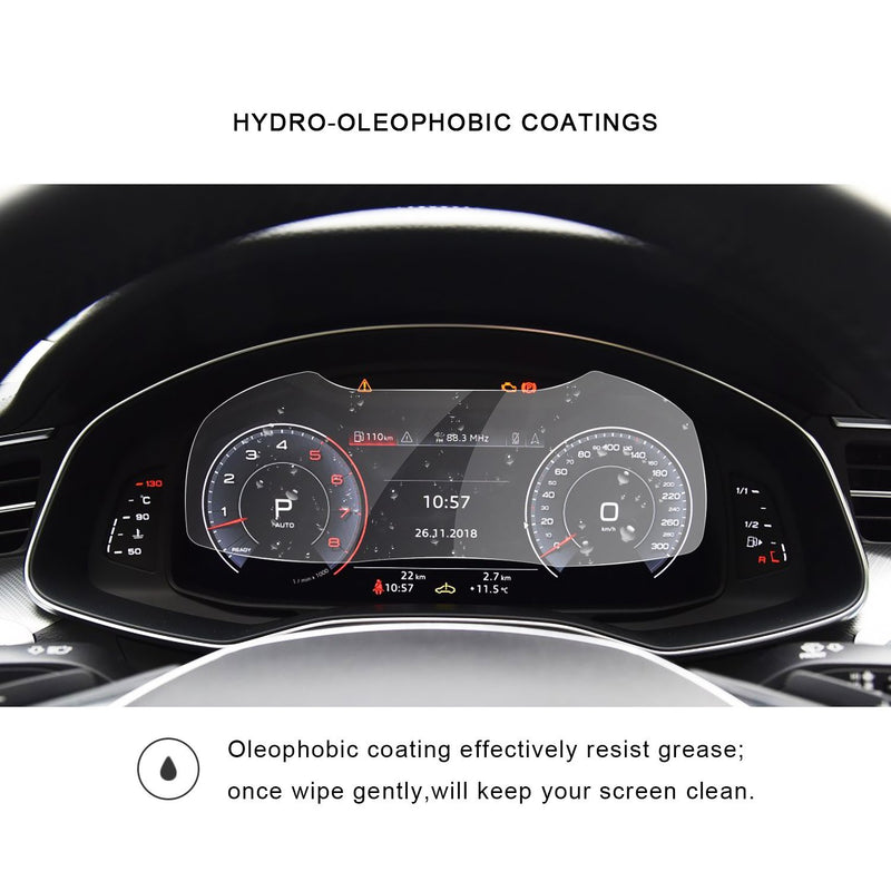 2019 Audi A6/Audi A7 Instrument Tempered Glass Protector