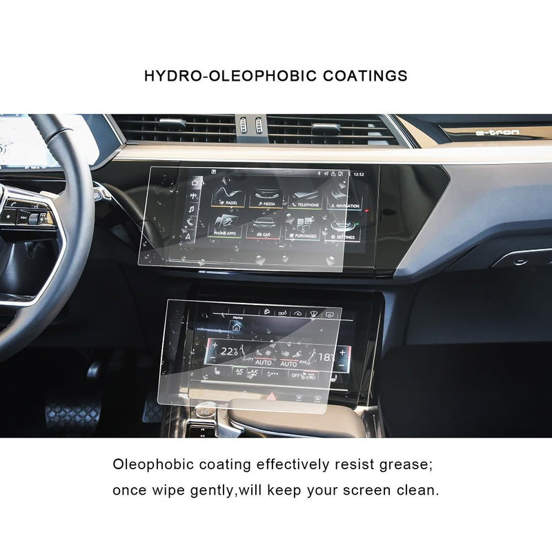 2019 Audi Q8 Screen Protector PET Plastic Film