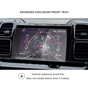 2019 Citroen C5 Aircross Navi Screen Protector