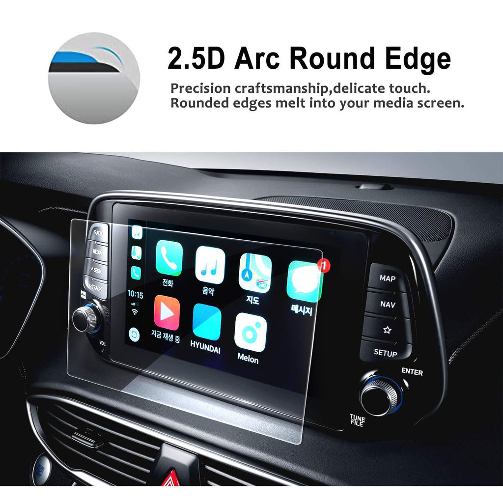 2019 Hyundai Santa Fe 8-inch Display Screen Protector