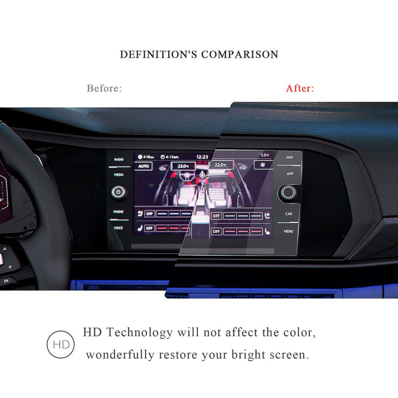 2019 Jetta 8-Inch Display Protector