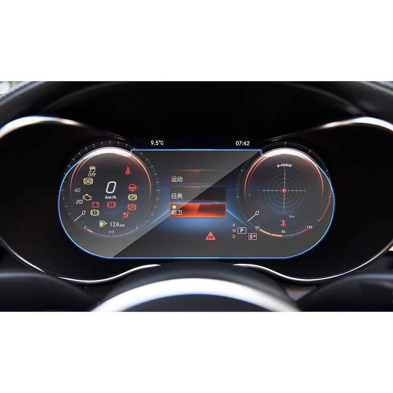 2019 Mercedes benz C-CLASS Instrument 10.25-Inch PET Protector (Plastic Film)