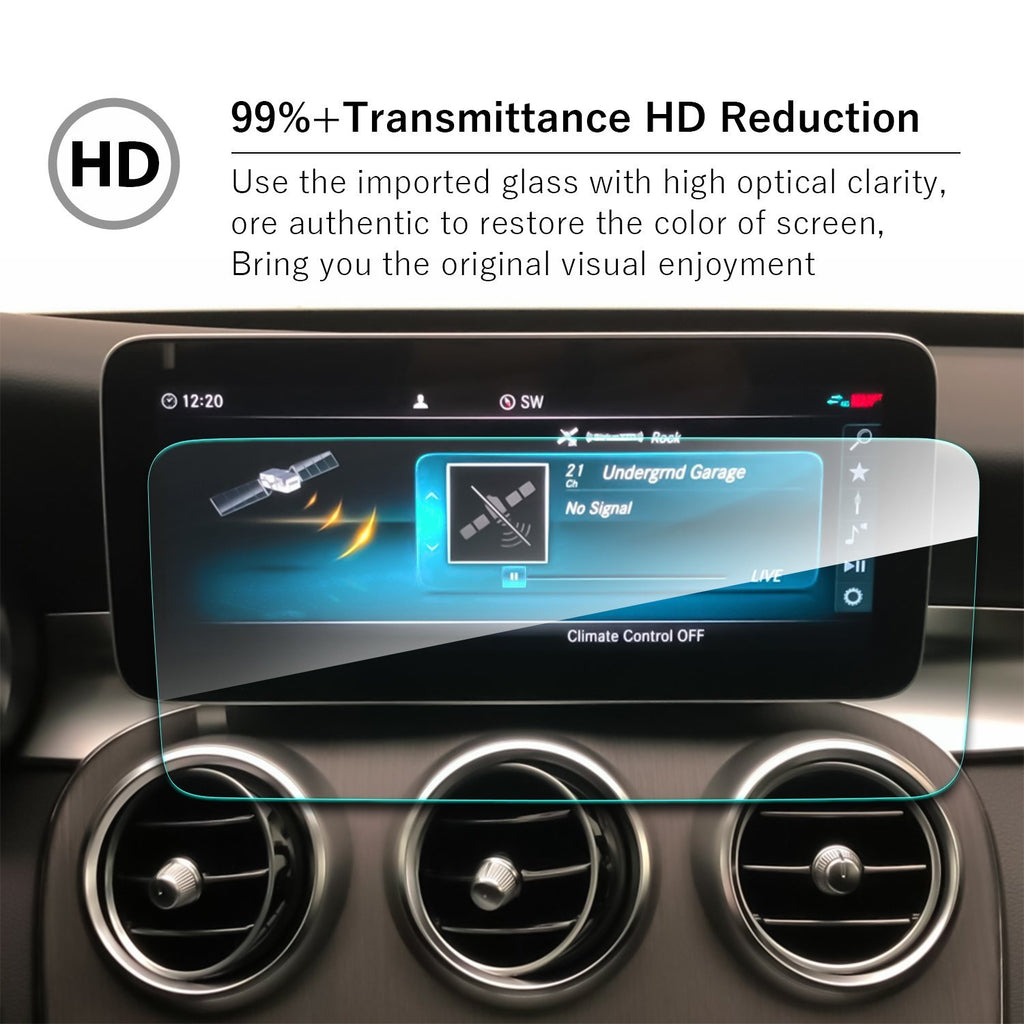 2019 Mercedes benz C-CLASS W205 10.25-Inch Navigation Screen Tempered Glass