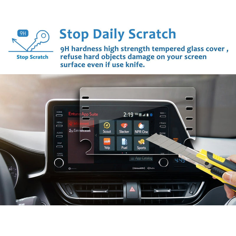 2019 Toyota C-HR Display Protector 8-Inch