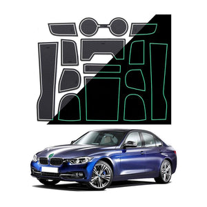 2020 Podložky BMW 3 Series Center Console Groove Liners - LFOTPP