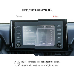 2020 Toyota Corolla Screen Screen Protector Anti Glare Anti Blue Light 7-Inch - LFOTPP