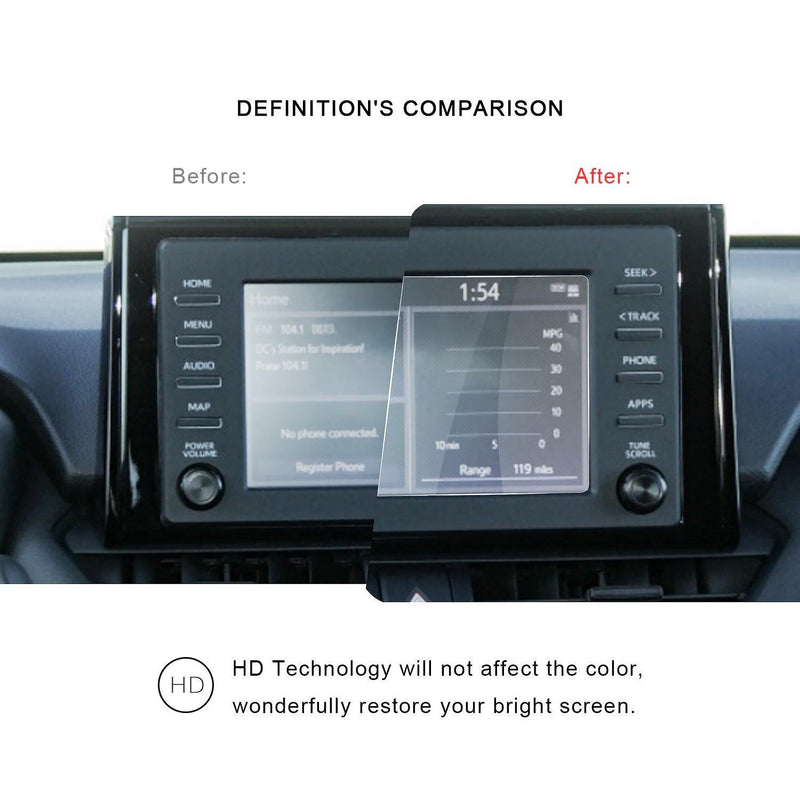 2020 Toyota Corolla Display Screen Protector Anti Glare Anti Blue Light 7-Inch - LFOTPP