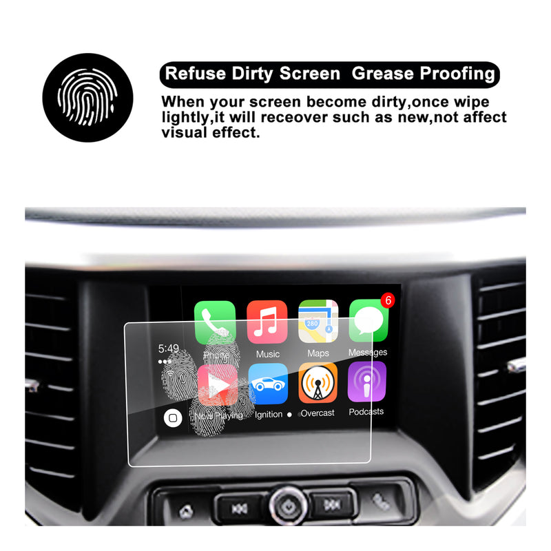 GMC Acadia Accessories GMC Acadia Car Navigation Screen Protector 2017 2018 2019 2020 2021