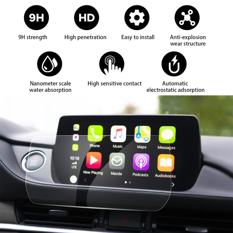 LFOTPP Mazda 6 Accessories Mazda 6 Car Navigation Screen Protector 2018 2019 2020 2021