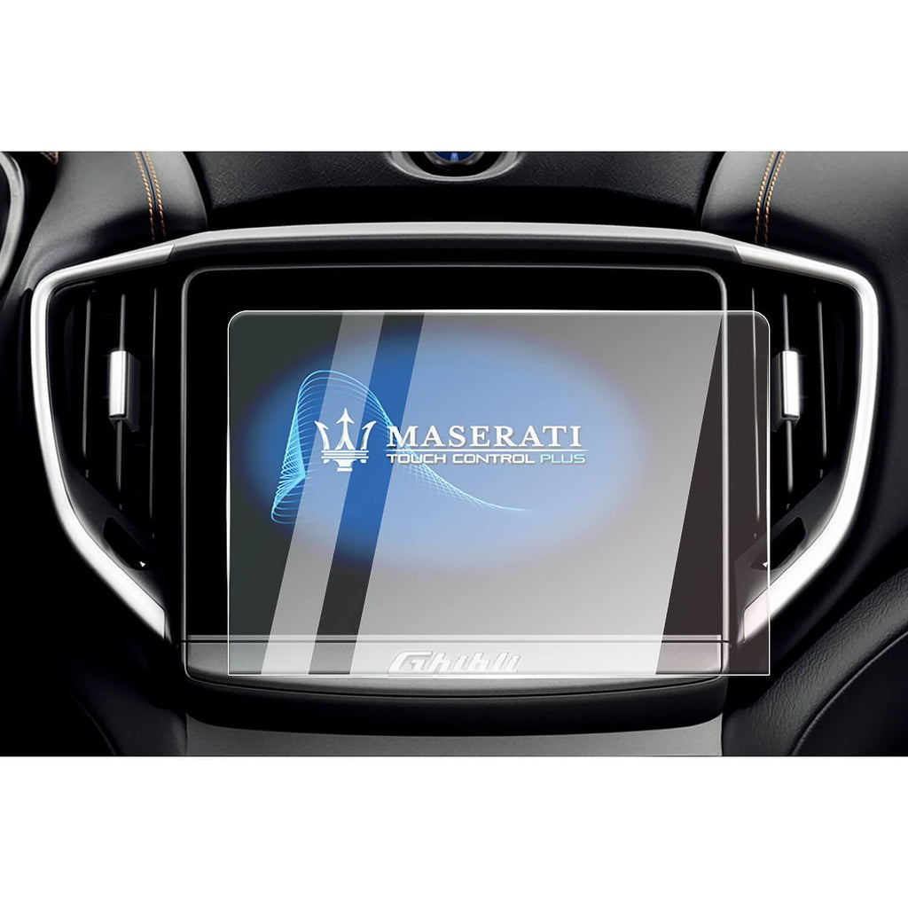 CDEFG Auto Screen Protector 2018-2019 Maserati Ghibli M157 Car Navigation Touch Screen Protector, Tempered Glass HD Scratch Resistance [8.4 inches]-lfotpp-auto-parts.myshopify.com