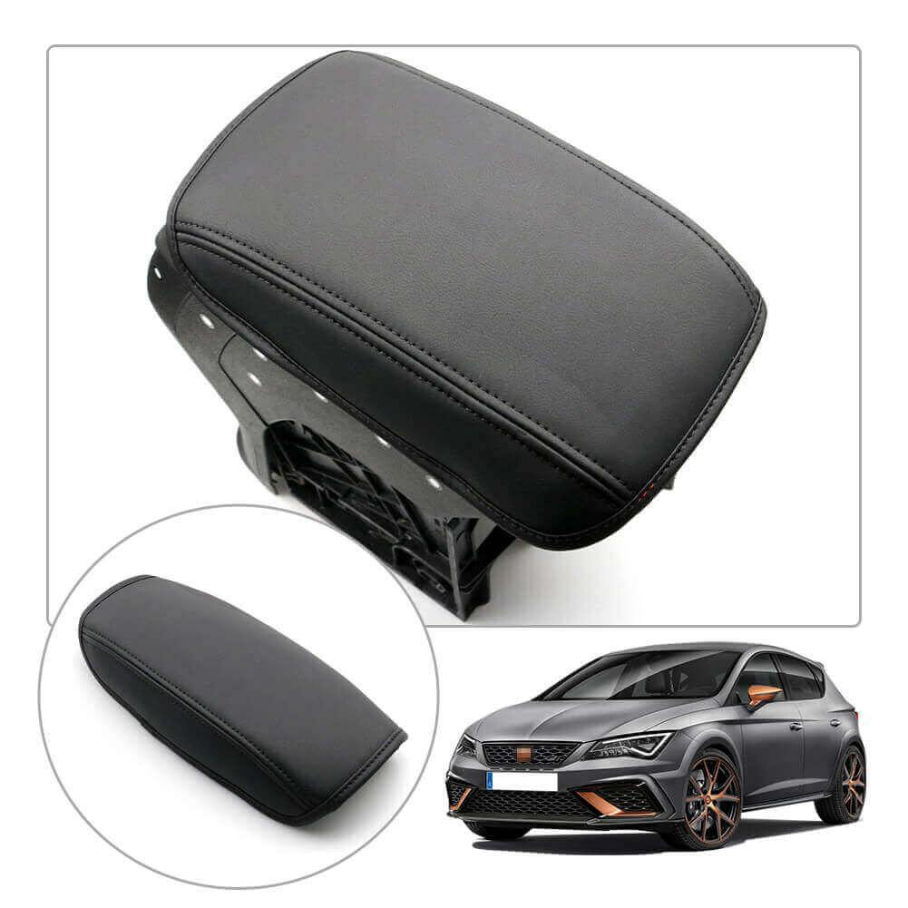 SHAOHAO center console covers 2013-2019 SEAT Leon MK3/Cupra 5F armrest cover [2 elastic band plus cotton]-lfotpp-auto-parts.myshopify.com