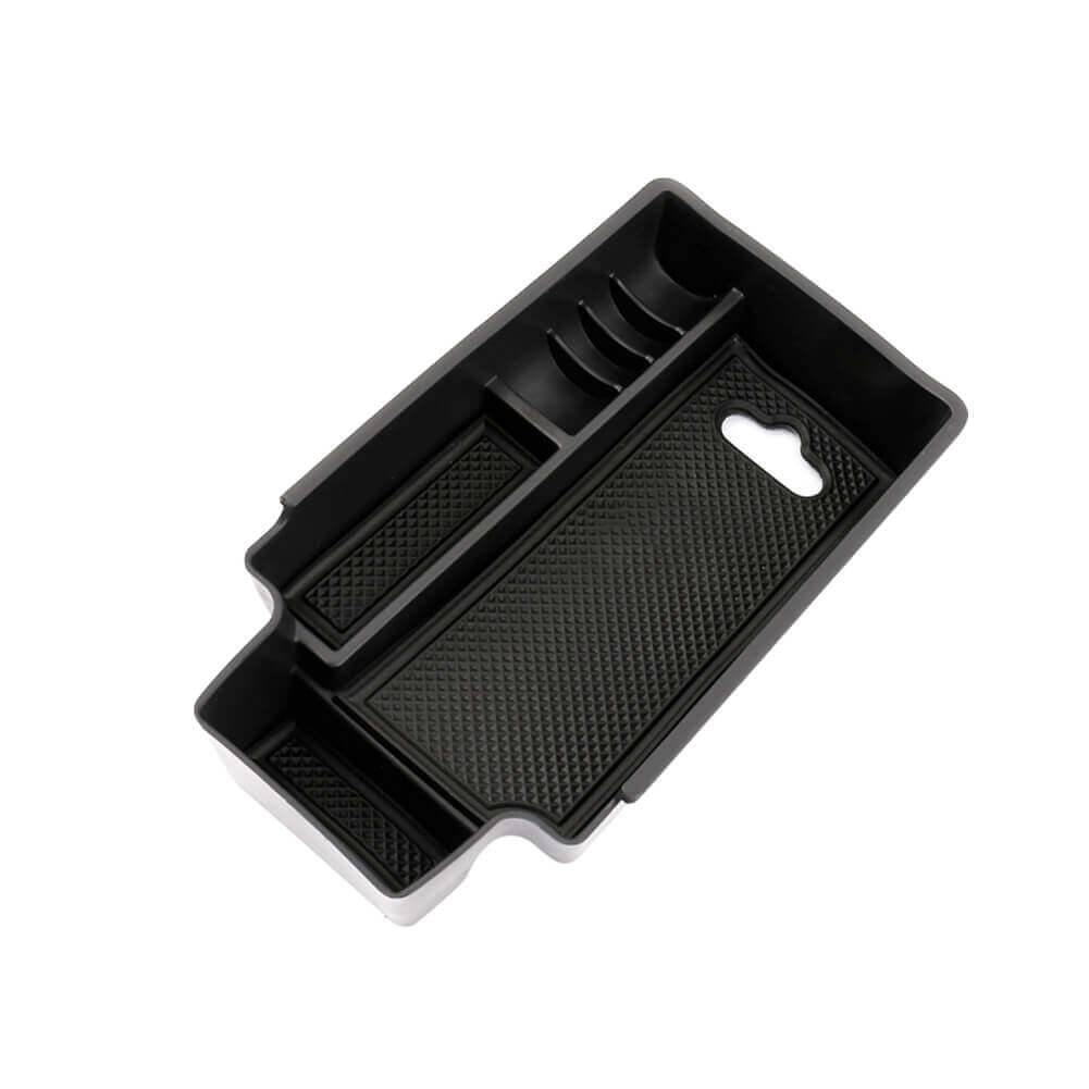 SKTU 2009-2017 Audi Q3 ABS Material Armrest Box parts storage box [black, no logo]-lfotpp-auto-parts.myshopify.com
