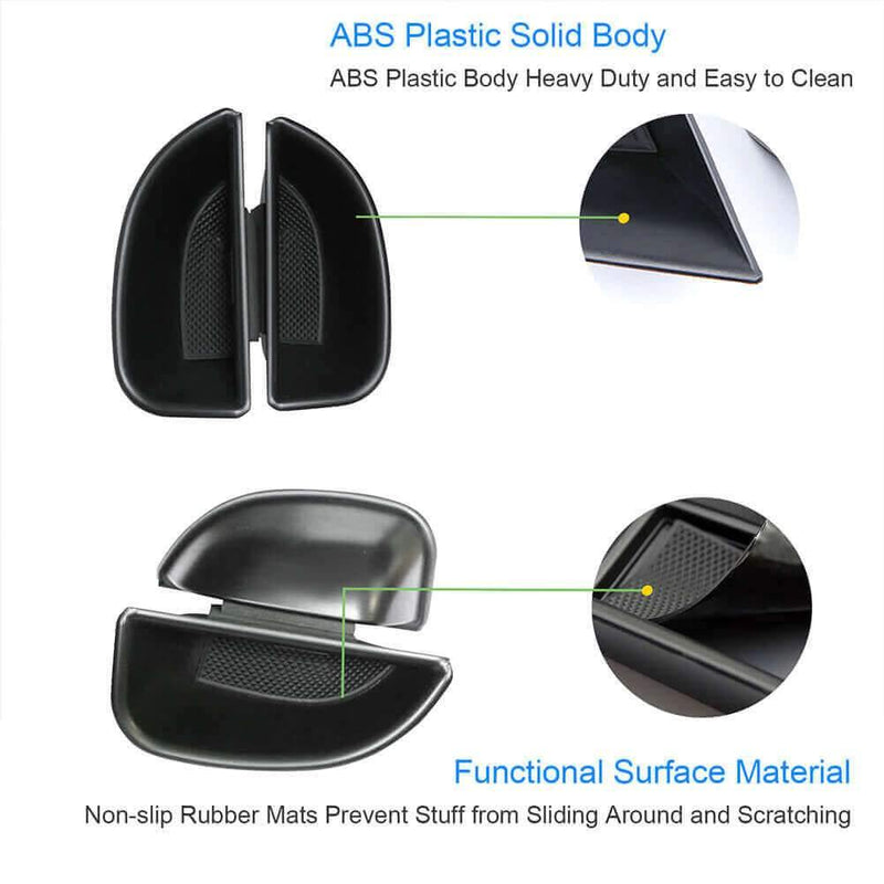 SKTU 2016-2021 SEAT Alhambra ABS Material Car Storage Box for front-door [2 pieces]-lfotpp-auto-parts.myshopify.com