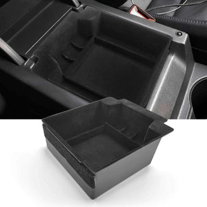 SKTU 2016-2021 SEAT Ateca Car Center Box Storage Box Armrest Insert [Flocked] -lfotpp-auto-parts.myshopify.com
