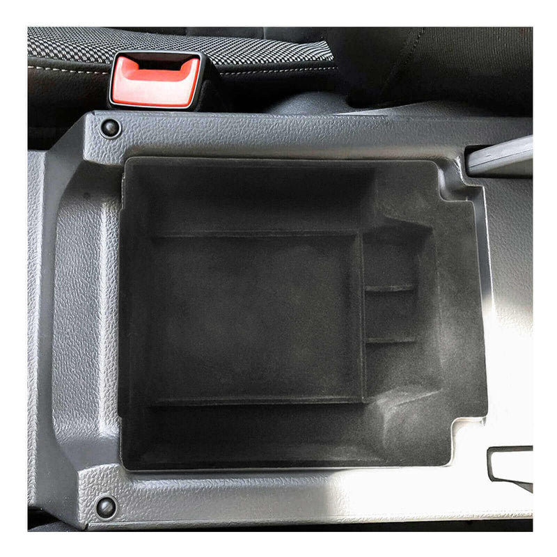 SKTU 2016-2021 SEAT Ateca Car Center Console Storage Box Armrest Box Insert [Flocked]-lfotpp-auto-parts.myshopify.com