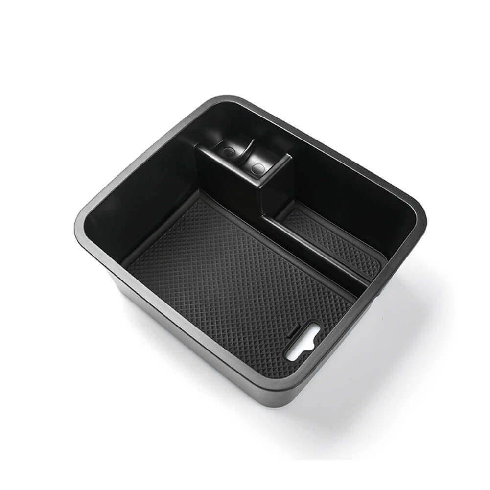 SKTU Car Center Console Storage Box 2016-2021 SEAT Alhambra ABS Material Armrest Box, black and no logo-lfotpp-auto-parts.myshopify.com