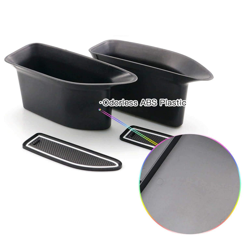 SKTU Car Storage Box 2012-2019 SEAT Leon MK3 Glove Secondary Storage Box for front-door white-lfotpp-auto-parts.myshopify.com