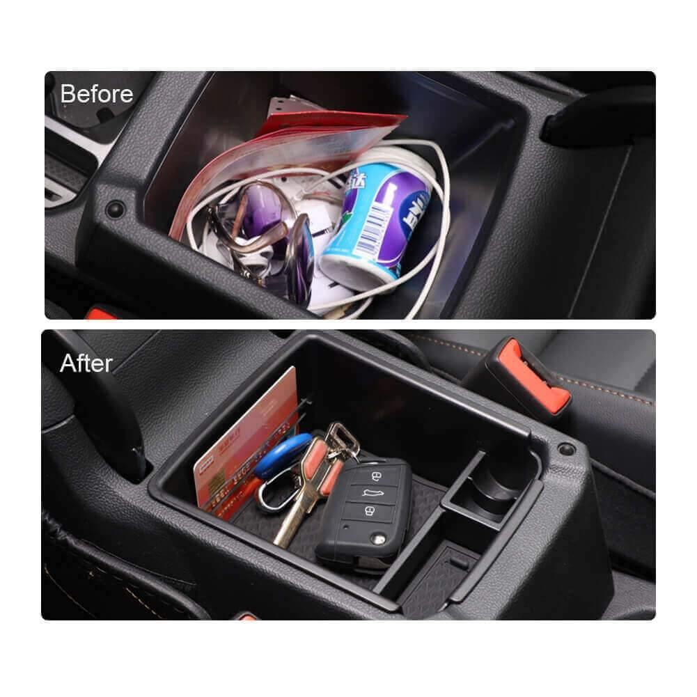 SKTU Car Storage Box 2019-2021 SEAT Tarraco Console Accessory Organizer-lfotpp-auto-parts.myshopify.com
