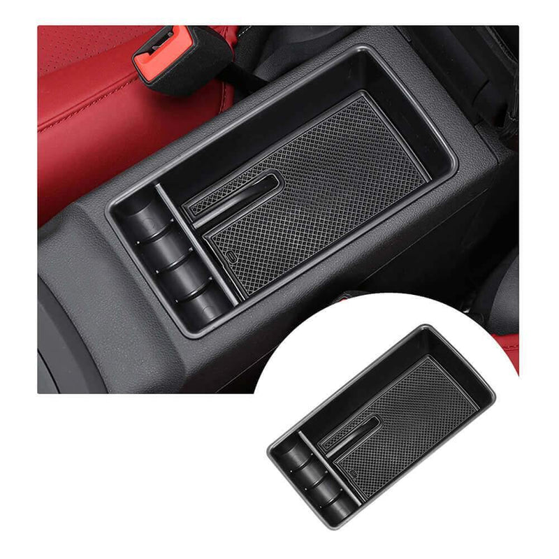 SKTU Car Storage Box for 2017-2021 Audi Q2L [black, no logo]-lfotpp-auto-parts.myshopify.com