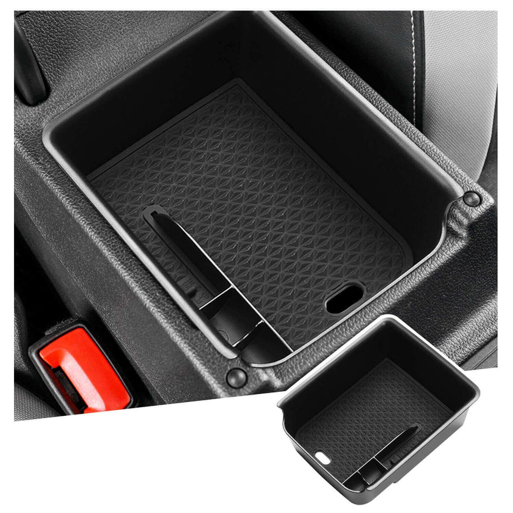 SKTU car console Storage 2020-2021 Volkswagen Golf Mk8 armrest Storage box [Black]-lfotpp-auto-parts.myshopify.com