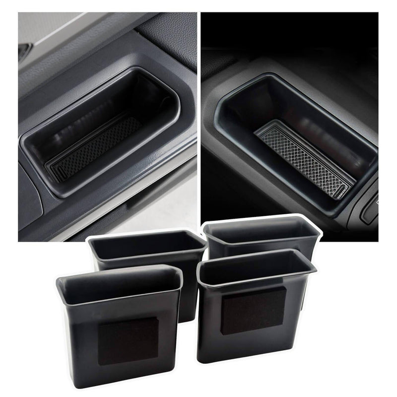 SKTU car door storage box 2018-2021 VW Teramont ABS Material Glove Secondary Storage Box [front door, rear door, 2 pcs]-lfotpp-auto-parts.myshopify.com