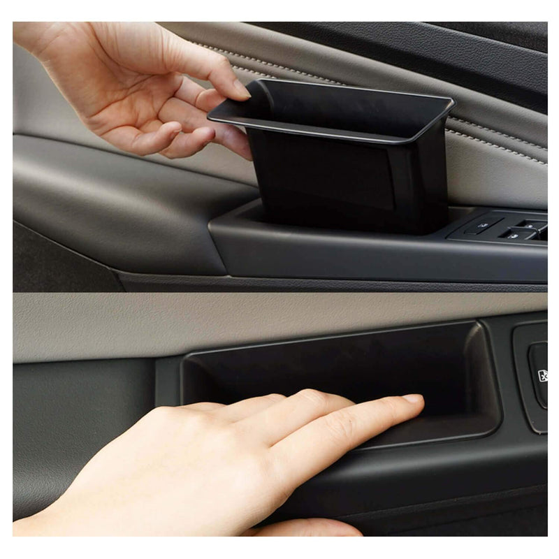 SKTU storage boxes 2020-2021 Volkswagen Golf Mk8 for front and rear 4 door Glove Secondary Storage Box [Black pad, without logo]-lfotpp-auto-parts.myshopify.com