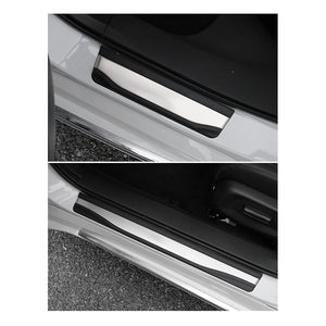 Accessoiren fir Honda Accord Door-Sill-Protector-Trim-for-Accord-Clarity-Insight-Passport-Pilot Accessoiren Door Entry Guard Edelstahl - LFOTPP