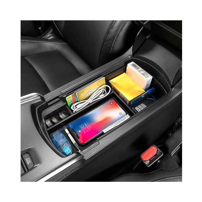 Accord Interior Accessories Center Console Armrest Organizer Compatible with Honda Accord 2018 2019 2020 Armrest Storage Box for Accord - LFOTPP