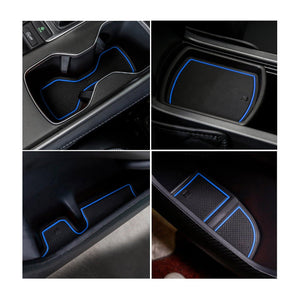 Accord Interior Accessories Center Console Pad Liners Compatible with Honda Accord 2018 2019 2020 - LFOTPP