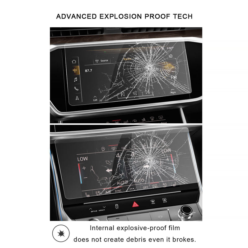 Audi A6/Audi A7 2019 Screen Protector & Air Conditioning Film(One Set)