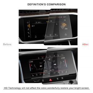 Audi A6/Audi A7 2019 Screen Protector & Air Conditioning Film(One Set) - LFOTPP