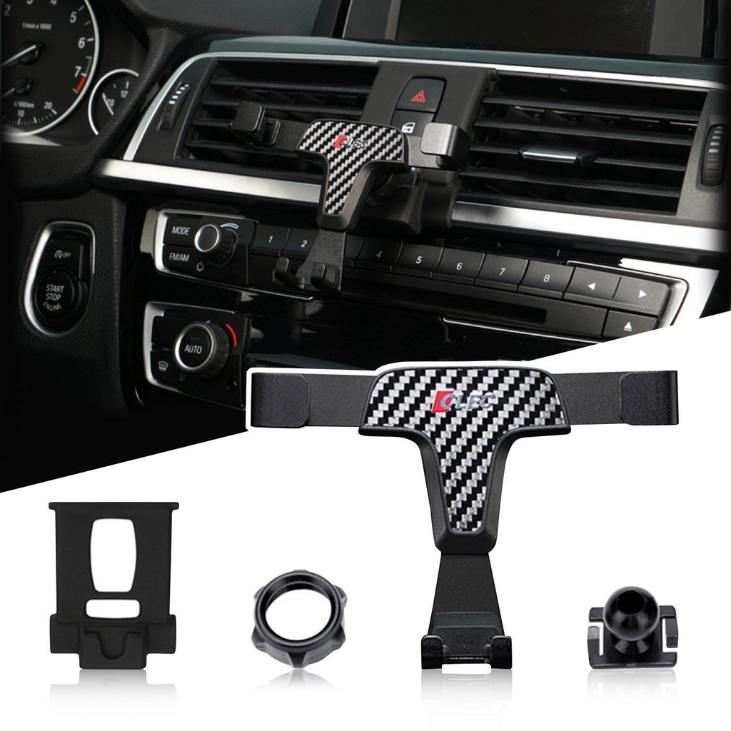 BMW 3 Series F30 Phone Holder 2013-2020,BMW 3 Series Phone Mount,Principle of Mechanics:Triangle Stability Gravity Linkage - LFOTPP