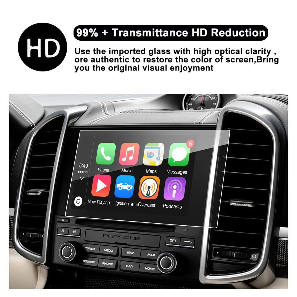 Car Navigation Screen Protector, 7-Inch In-Dash Screen Protector for 2017 Porsche Cayenne COUPE/HATCHBACK