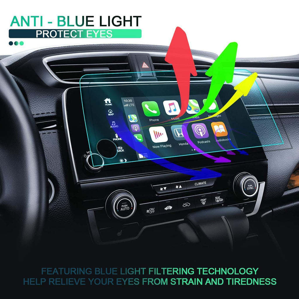 Honda CRV Screen Protector Cover 2017-2020 | Anti-blue Light | 9H Hardness | Left-hand Drive - LFOTPP