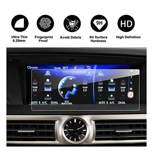 Lexus GS 200t 350 450H GS F LS 460 500 600 IS 200t 300 350 12.3-Inches Car Navigation Protective Film, Clear Tempered Glass HD and Protect your Eyes