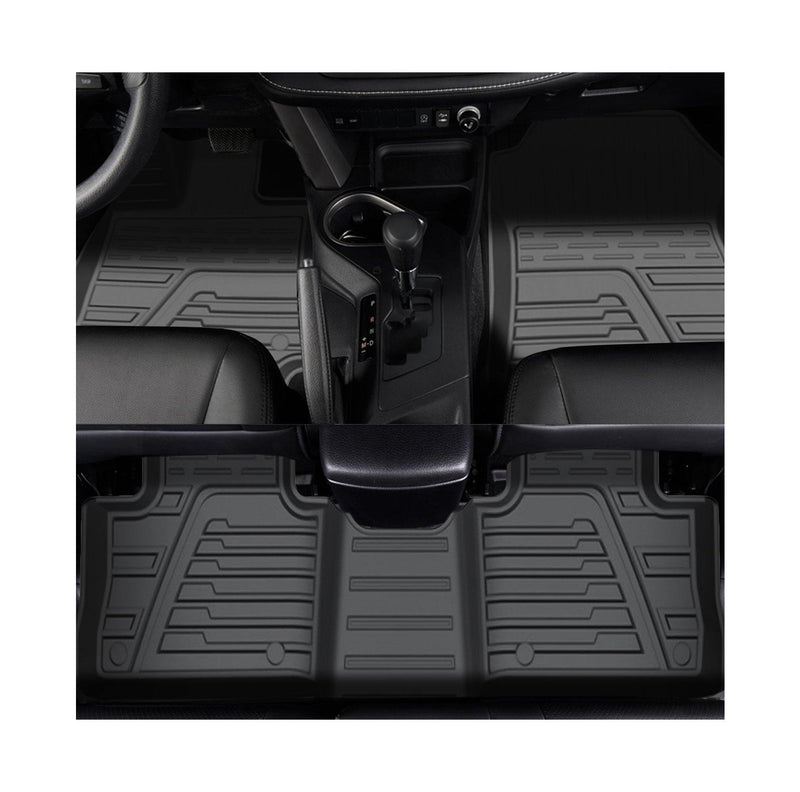 RAV4 XA50/Venza 2021 Interior Accessories, Floor Mats Compatible for Toyota RAV4 XA50 2020/Venza 2021, Upgrade Version Rav4/Venza Floor Liners,Protection The Carpet from Pollutants - LFOTPP