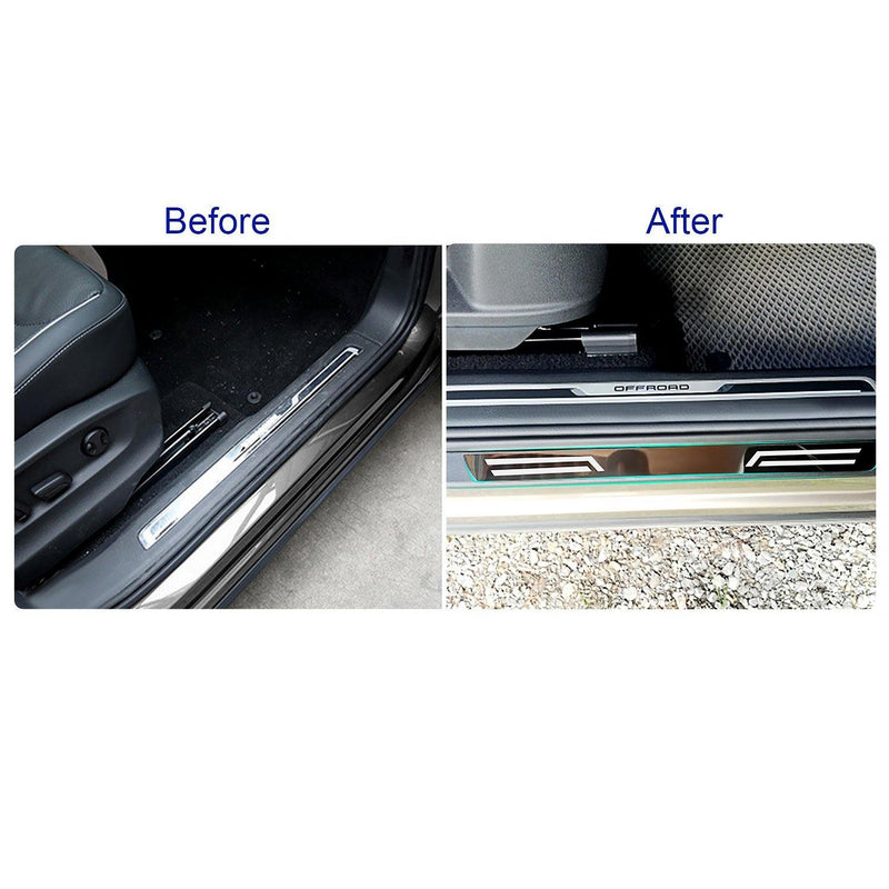SEAT Tarraco Door Sill Protector | 2019-2020 SEAT Tarraco Door Scuff Protector | Prevent the Door Scuff - LFOTPP