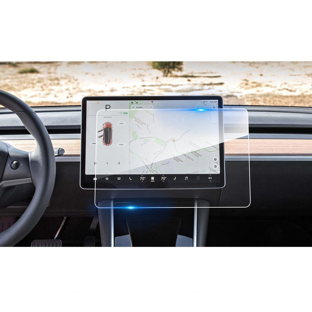 Tesla Model 3 For 15-Inch Center Touch Navigation Screen Protector - LFOTPP