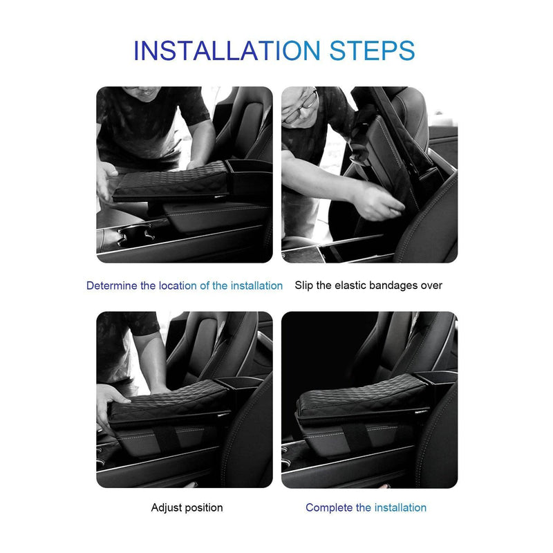 Toyota Rav4 Interior Accessories | Armrest Pad Cushion for Toyota Rav4 2019-2020 | Armrest Heightening Pad Cover Compatible for Toyota Rav4 | Relieve Driving Fatigue - LFOTPP