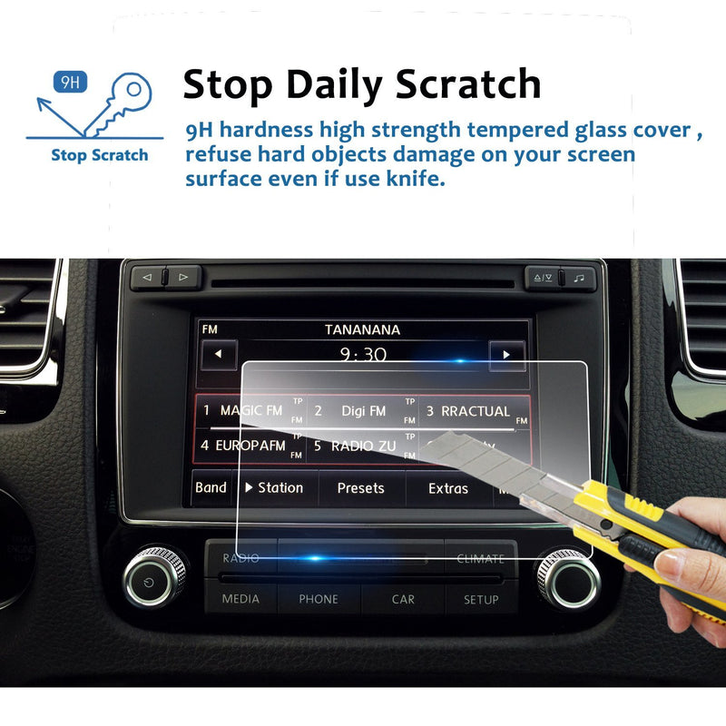 VW Volkswagen Touareg Navigation Screen Protector 6.5-Inch For Touareg 2011-2017