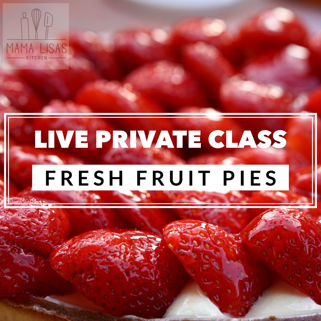 Fresh Fruit Pie Class