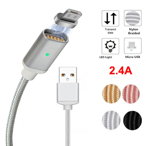 Micro USB Magnetic Adapter Cable Fast Charging Charger For Android Devices!